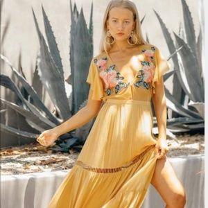 Cleobella Amery Maxi Dress NWOT